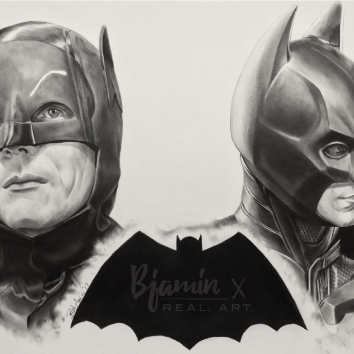The Batmen - Adam Wes / Christian Bale